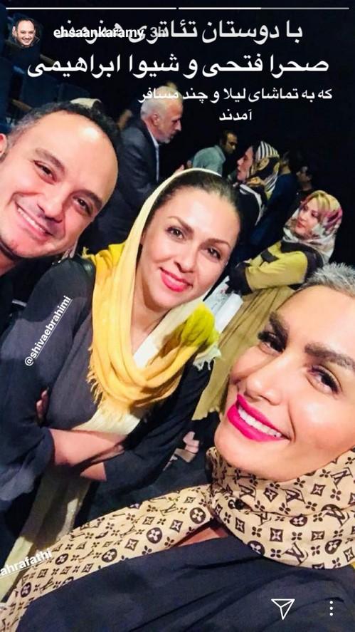 اینستاگرام هنرمندان (77) از لیلا اوتادی در جشن تولد گلاره عباسی تا تیپ نظامی لیلا بلوکات!