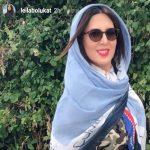 اینستاگرام هنرمندان (۷۷) از لیلا اوتادی در جشن تولد گلاره عباسی تا تیپ نظامی لیلا بلوکات!
