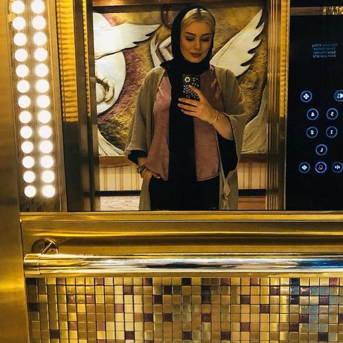 چهره ها در شبکه های اجتماعی (564) از سکوت سحر قریشی تا گریه الناز حبیبی !