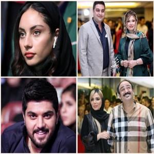 تصاویر جدید جشن حافظ ۹۷   از مهران غفوریان و همسرش تا سینا مهراد و ترلان پروانه