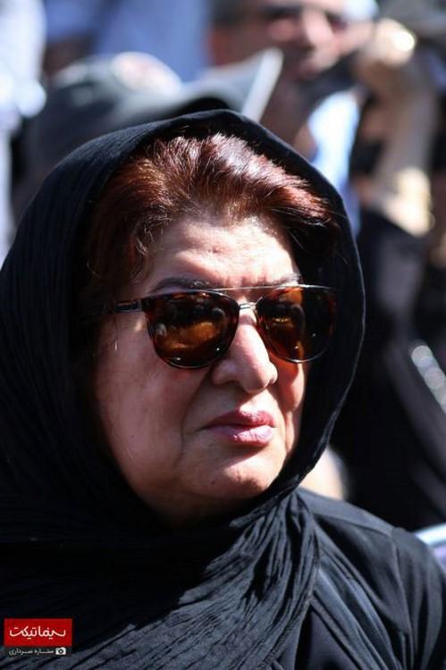 مراسمتشییع پیکر عزت الله انتظامی