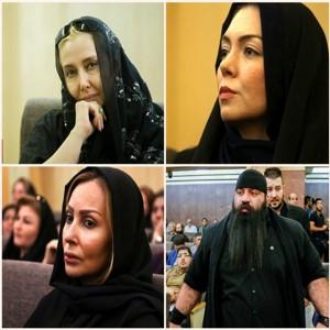 مراسم ختم عزتالله انتظامی با حضور چهره های مشهور هنری و سیاسی | از کتایون ریاحی تا آزاده نامداری