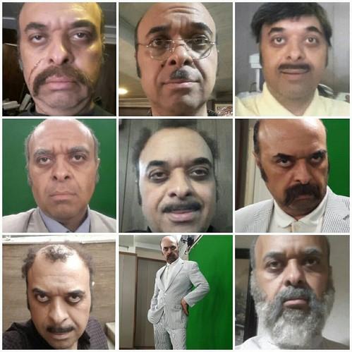 چهره ها در شبکه های اجتماعی 593