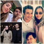 همسر خارجی بازیگران و ورزشکاران ایرانی | از همسر میلیاردر کریم انصاری فرد تا ساعد سهیلی و همسر فرانسوی اش!