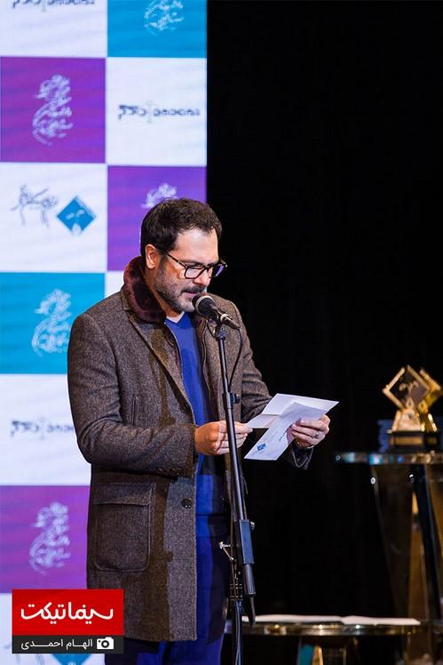 چهره های مشهور در دوازدهمین جشن منتقدان و نویسندگان سینما | از میلاد کی مرام تا سحر دولتشاهی !