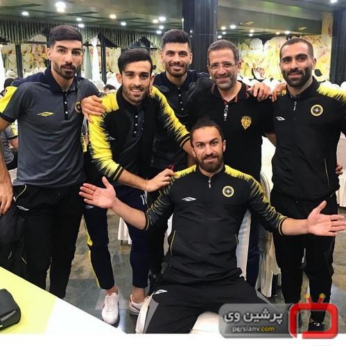 ورزشکاران ایران و جهان در شبکه های اجتماعی (24) از دیدار علی دایی با رئیس فیفا تا به دنیا آمدن دختر فرزاد مجیدی!