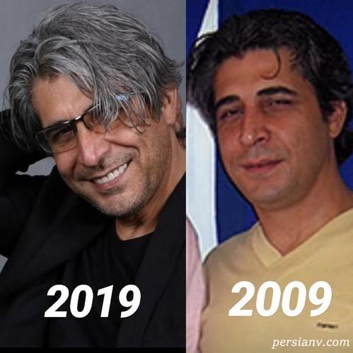 چالش عکس 10 سال پیش بازیگران
