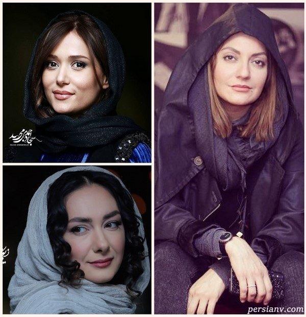 چهره های مشهور در روز هشتم جشنواره فجر ۹۷ | از پریناز ایزدیار با دو تیپ شیک تا عادل فردوسی پور!