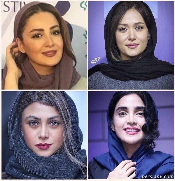 چهره های مشهور در روز ششم جشنواره فجر ۹۷ | از رفتار نامناسب علی مصفا تا لباس پولکی آزاده صمدی!