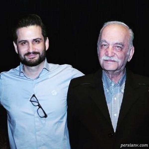 تبریک روز پدر توسط بازیگران