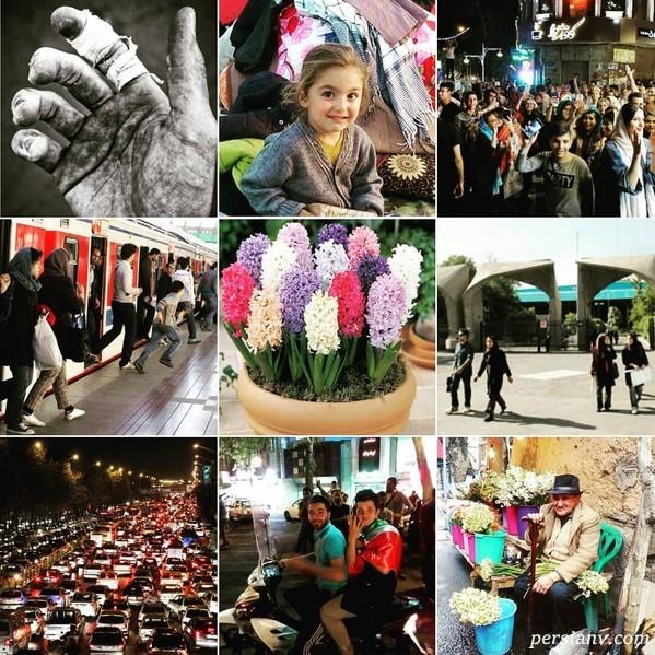 تبریک نوروز 98 توسط چهره های مشهور   تبریک ساده ترلان تا هفت سین شیک نرگس و علی!(2)