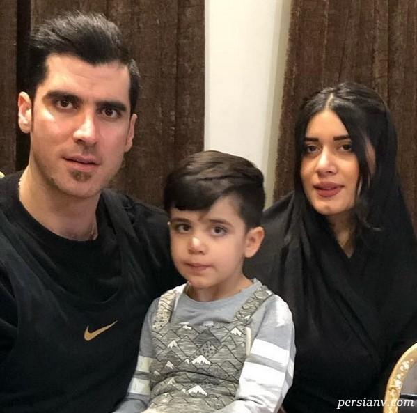 ورزشکاران در شبکه های اجتماعی (۸۷) از خانواده شاد شهرام محمودی تا لبخند شاراپوا !