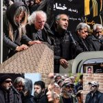 چهره های مشهور در تشییع پیکر خشایار الوند | از حرفهای سوزناک ژوله تا اعتراض تند پوراحمد! (۱)
