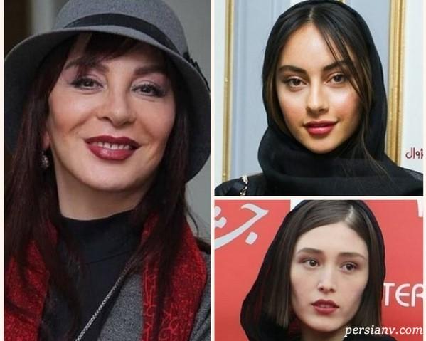 چهره ها در اختتامیه سی و هفتمین جشنواره جهانی فجر |از استایل خاص بایگان تا تیپ مشکی ترلان!