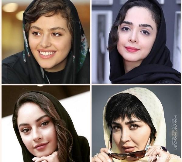 چهره ها در سی و هفتمین جشنواره جهانی فیلم فجر | از تیپ عجیب مریم معصومی تا ترلان پروانه !