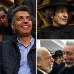 چهره ها در مراسم ختم جمشید مشایخی | از محمد اصفهانی تا عبور سختِ عادل از بین مردم! (۱)