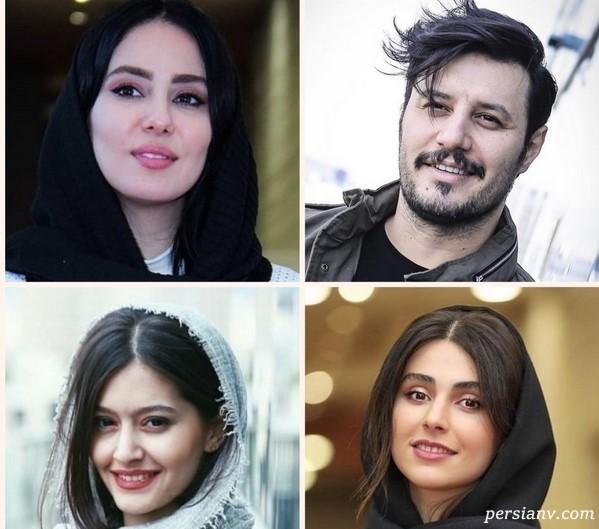 چهره ها در جشنواره جهانی فیلم فجر ۳۷ | از موهای افشون جواد تا استایل شیک لاله !