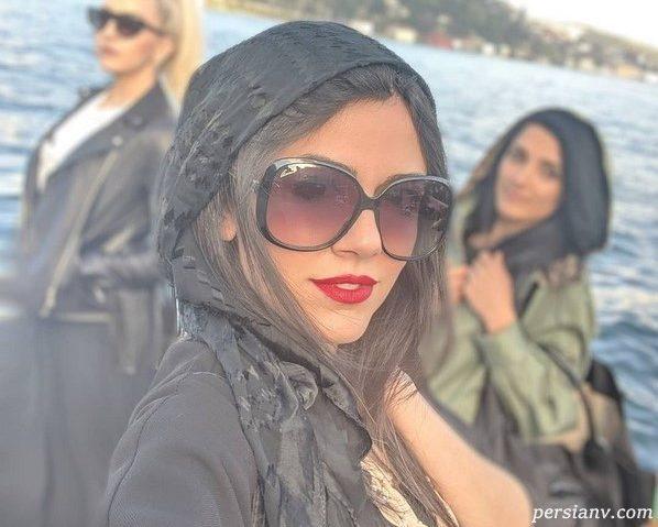 چهره ها در شبکه های اجتماعی (۶۵۰) از متانت المیرا تا شیطنت ریحانه !!!