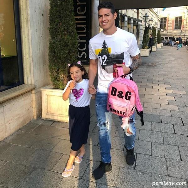 ورزشکاران در شبکه های اجتماعی (108) از چشم رنگی های مونا تا تولد پسر زیدان!