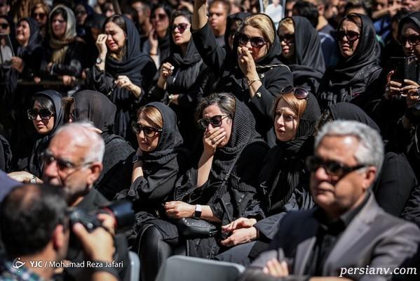 تشییع جنازه بهنام صفوی