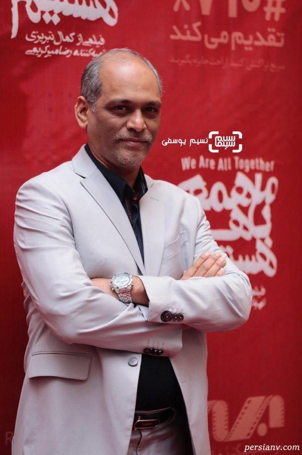 افتتاحیه پر ستاره فیلم ما همه با هم هستیم | از رضا گلزار تا هلیا امامی! +فیلم