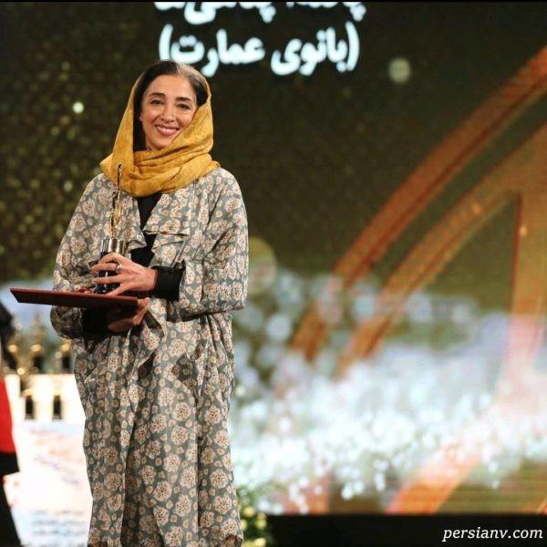 نوزدهمین جشن حافظ | از سخنرانی عادل تا تقدیر سیما تیرانداز از جاری سابقش گلاب!