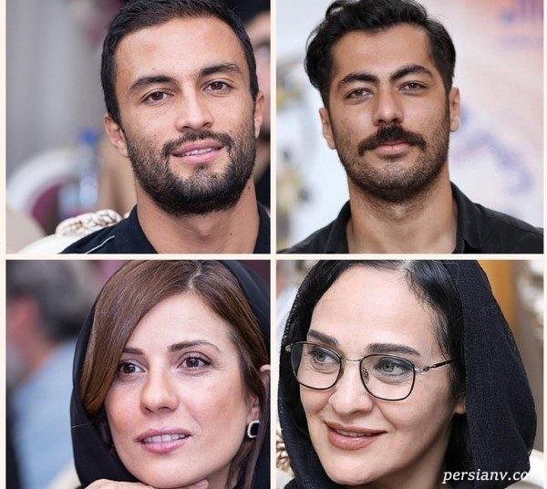 چهره های مشهور در مراسم تقدیر از نامزدهای جشن خانه سینما | از امیر جدیدی تا سارا بهرامی !
