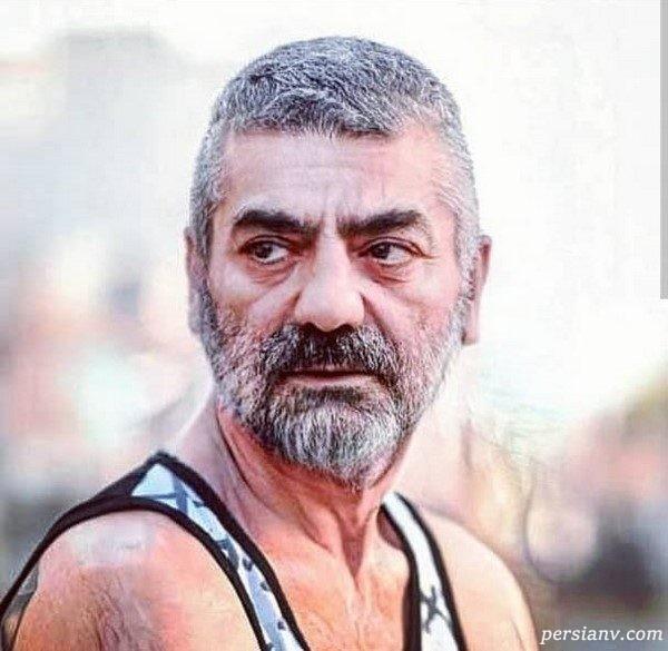 چالش عکس پیری بازیگران