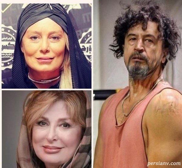 چالش پیری چهره های معروف ایرانی | از سحر قریشی تا مهراب قاسم خانی!