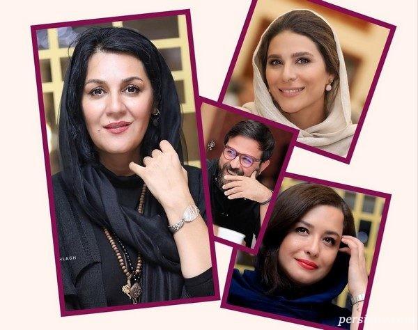 چهره های مشهور در مراسم جایزه آکادمی سینماسینما | از ستاره و مهراوه تا آزاده و فرزاد!
