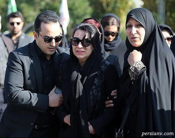 مراسم تشییع پیکر مجید اوجی با حضور دوستداران و چهره های مشهور