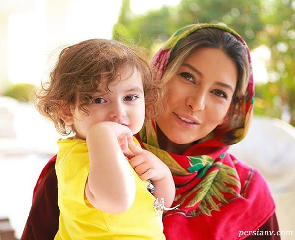 از تولد دختر فریبا نادری تا نیوشا ضیغمی با مادر و دخترش لنا (۲۹۰)