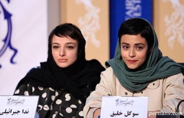 سوگل خلیق و ندا جبرئیلی در جشنواره فجر