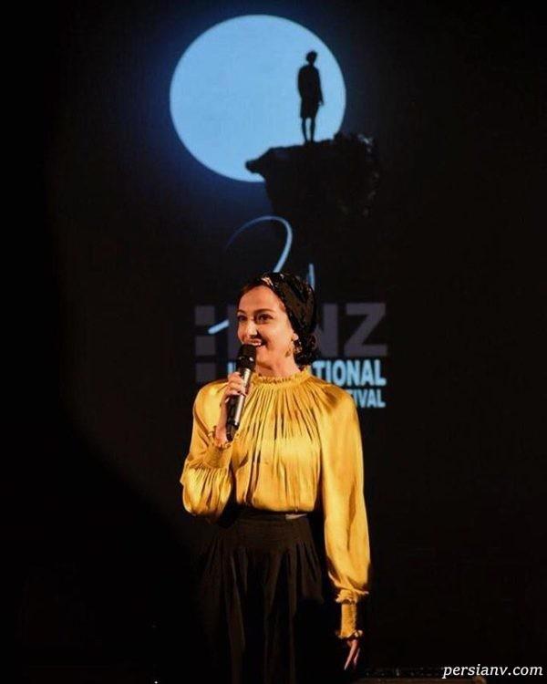 ندا جبرئیلی در جشنواره خارجی