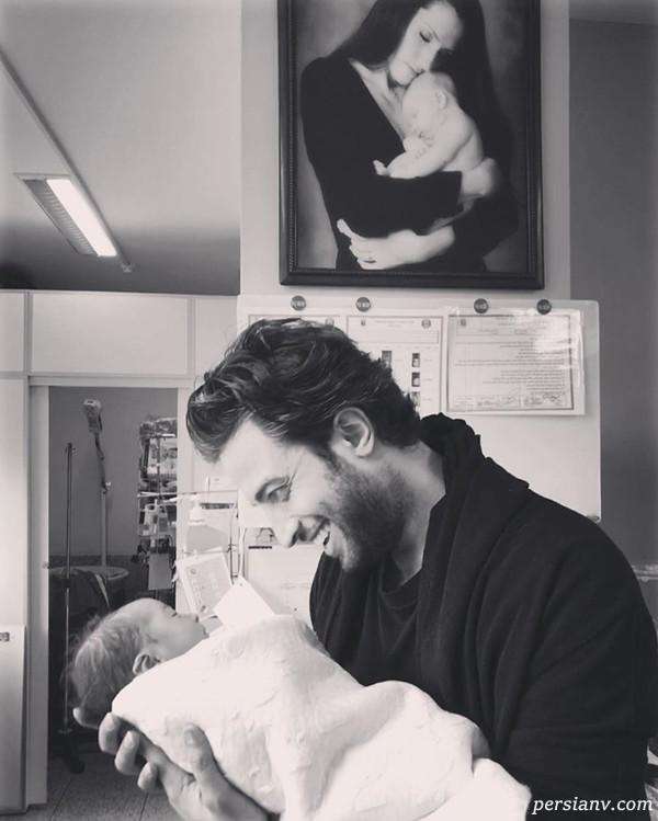 تولد پسر دوم بنیامین بهادری در تهران