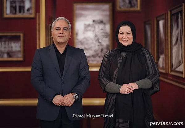 ریما رامین فر و مهران مدیری