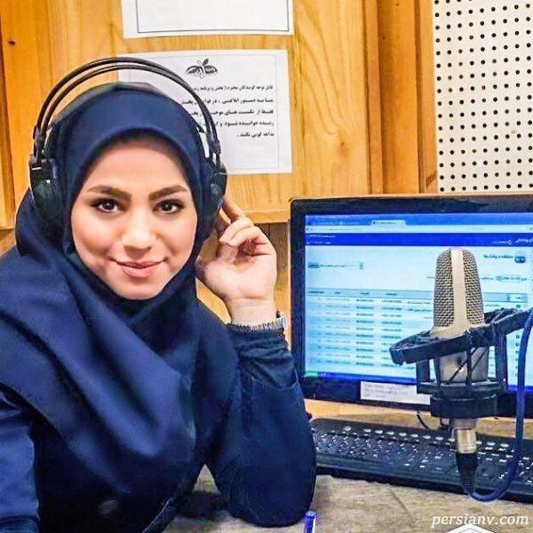 محیا مجری جوان رادیو