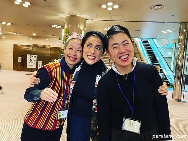 بهناز جعفری داور جشنواره در ژاپن