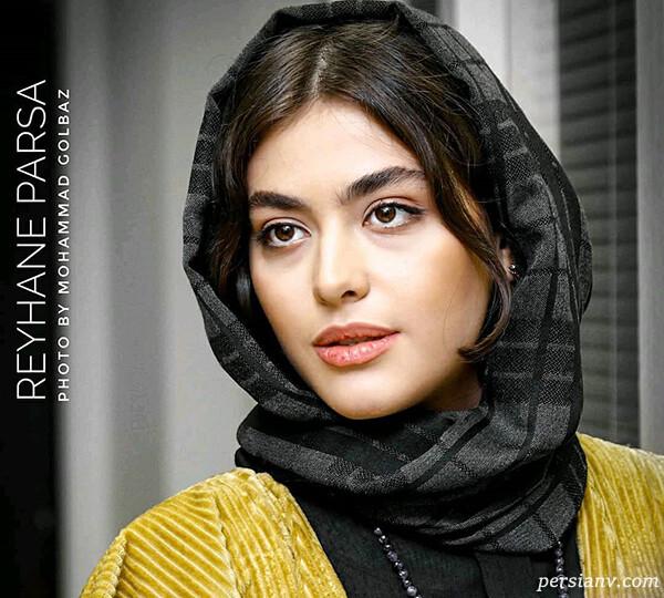 مهدی کوشکی و ریحانه پارسا در خیابان تا علی سخنگو سریال دل (۸۲۴)