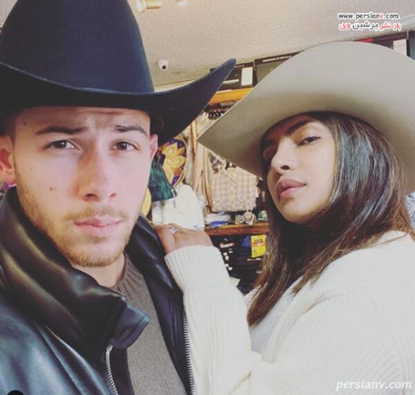 نیک جوناس و پریانکا چوپرا