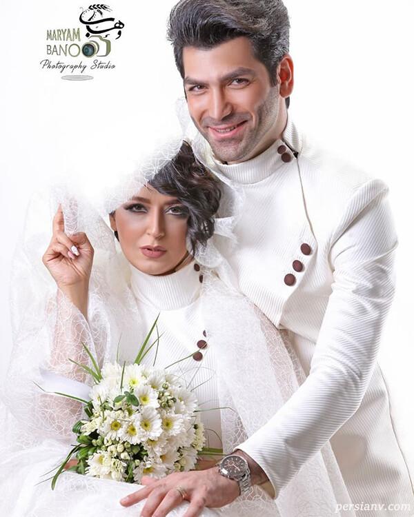 ازدواج خانم بازیگر