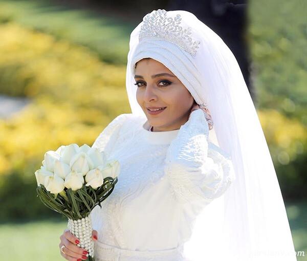 ساره بیات سریال دل تا تولد همسر احسان خواجه امیری (۸۳۷)