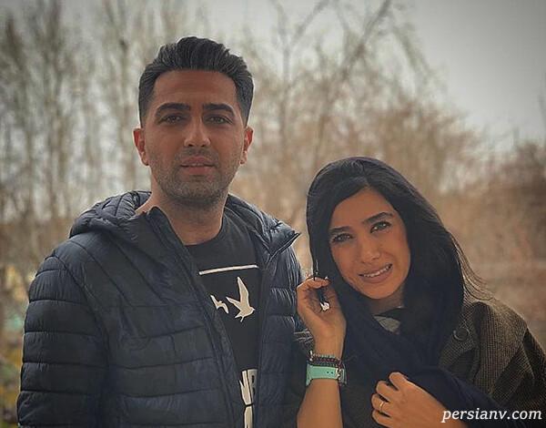 علی سخنگو سریال دل با همسرش تا سالگرد عقد سوگل طهماسبی