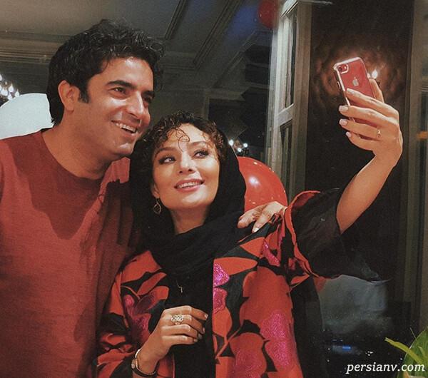 جشن تولد منوچهر هادی تا هدیه تهرانی ستاره زیبای همگناه