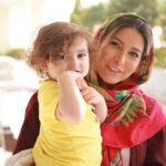 فریبا نادری و همسرش به وقت تولد تا آتنه فقیه نصیری در گذر زمان