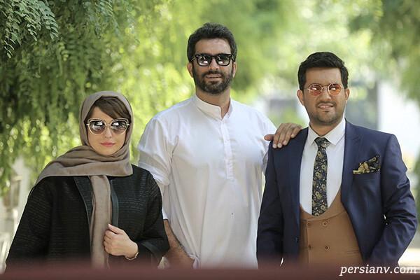 بازیگران مجرد سریال دل تا تولد علیرضا صادقی همسر الهام حمیدی