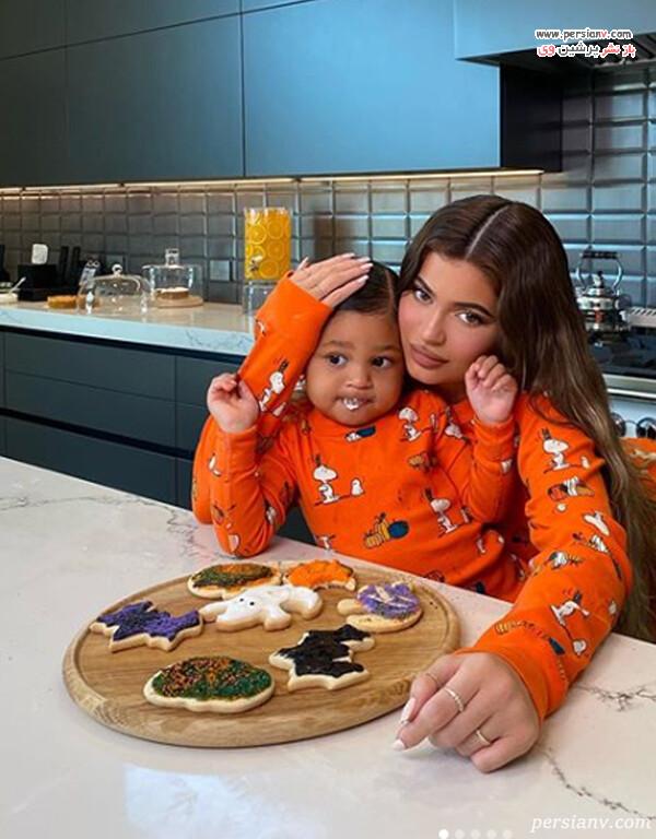 کایلی و دخترش استورمی