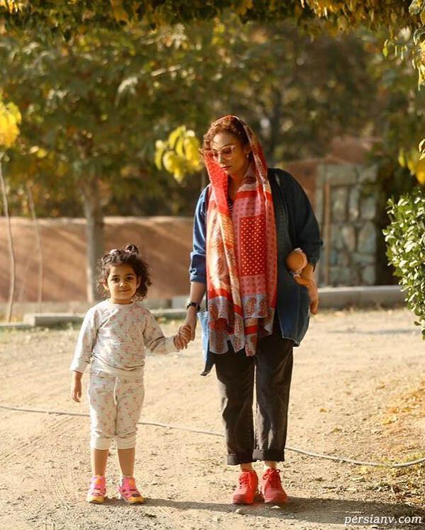 یکتا ناصر به همراه سوفیا