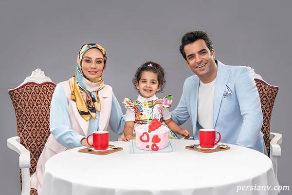 یکتا ناصر و دخترش سوفیا تا عمو پورنگ و امیرمحمد با بچه محل