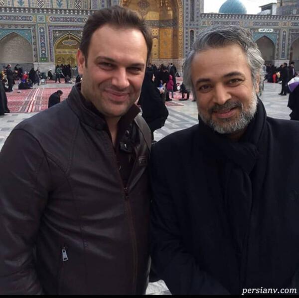 شهروز ابراهیمی و مرحوم حسن جوهرچی
